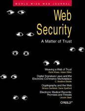 Web Security: A Matter of Trust: World Wide Web Journal: Volume 2, Issue 3, Khar