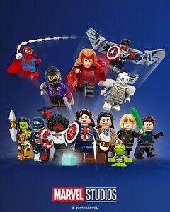 Lego Marvel Studios Minifigures Full Set of 12 LEGO 71031 Marvel Studios
