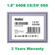 KingSpec 1.8' ZIF/CE 40PIN SSD 64GB for Dell D420  HP 2510P 2710P ipod Classic