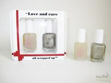 """ESSIE """"Love and Care all Wrapped Up"""" NAIL POLISH DUO GIFT SET - Free UK POSTAGE"""