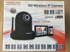 Foscam HD Wireless IP camera FI9821W