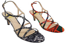 Synthetic Formal Multi-Colored Shoes for Women