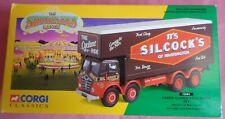 Corgi Classics 12601 Foden Closed Pole Truck Set Silcock – Box Only