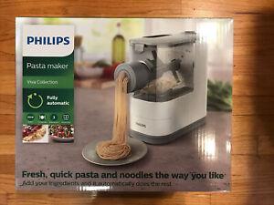 Philips Compact Fresh Pasta Maker Viva HR2370/05 Viva Collection -- Brand New!