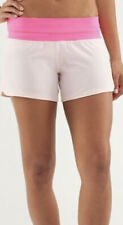 EUC LULULEMON Sz 8 Groovy Run Speed Shorts Two Toned Pink Gym Free Shipping