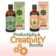 [BUNDLE] Productivity & Creativity - Ginkgo Biloba + Siberian Ginseng