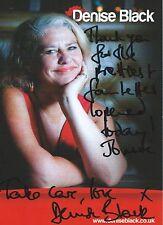 Signed Denise Black   - 5x3 Photo Card