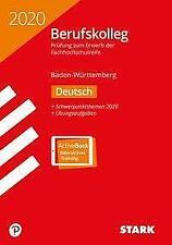 Original-Prüfungen Berufskolleg Deutsch 2020 - BaWü