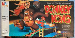 1982 Vintage Milton Bradley Donkey Kong Board Game Complete