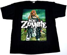 ROB ZOMBIE Warrior 2011 Tour T-shirt Heavy Metal Tee 2XL Black New