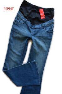 Esprit Umstands Jeans Gr.34-36 BOOTCUT blau Hose NEU Maternity NEU 79,95€
