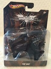 Hot Wheels Batman THE DARK KNIGHT RISES THE BAT  1:50 Scale Die Cast  NEW
