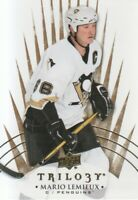 2014-15 Upper Deck Trilogy Hockey #97 Mario Lemieux Pittsburgh Penguins