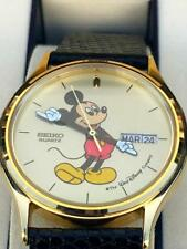 Mickey Mouse Seiko Day Date,Disney Watch 5Y23-7079~NEW OLD STOCK~RARE~*DC