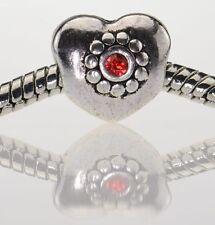 Cuore con pietra BEADS TIBET charms gioielli Paracord ®