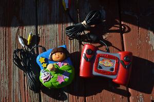 Dora The Explorer & Etch -A- Sketch Plug N Play Handheld Video Games (2)