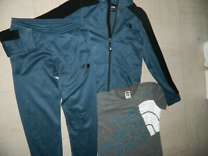 Genuine Boys' THE North Face Tracksuit Aprix Age 12/13 Years Slim Fit