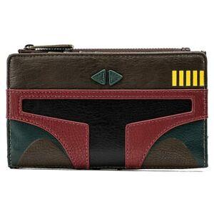 Loungefly Licensed Disney Star Wars Boba Fett Cosplay Flap Wallet