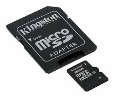 Kingston microSDHC 16 GB Class 4 - SDHC Karte - Retail - (SDC4/16GB)