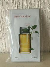 "Clarins Huile ""Anti-Eau"" Contour Body Treatment Oil Samples 8ml X 5"