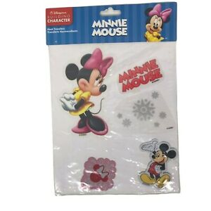 Minnie Mouse Heat Transfers Disney Store Mickey Mouse Snowflakes Vintage