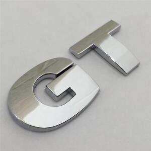 GT Badge Emblem For VW Golf TDI FSI TSI Rear Boot Tailgate Sticker MK4 MK5 MK6