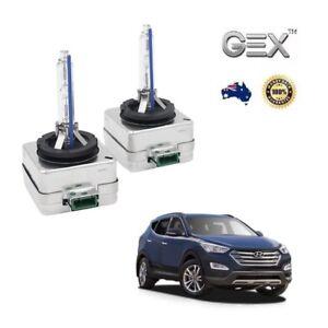 2X Gex D3S HID Bi-Xenon Headlights Bulbs For Hyundai Santa Fe 2010-2017