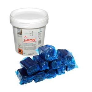 Sanit Sparset 20 Stk. Wasserkastenwürfel Reinigungswürfel Tabs 3056