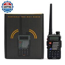 Baofeng UV-5R + Plus V/UHF Handheld Ham Two-way Walkie Talkie Transceiver HT