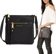 🎁 NWT Marc Jacobs Trooper Nylon Crossbody Bag in Black $195