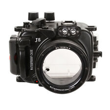 40m Underwater Diving Waterproof Camera Housing Case For Nikon J5 & 10-30mm Lens