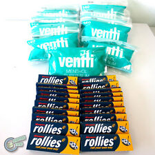 1260 Menthol Slim VENTTI Filter Tips + 1200 ROLLIES Cigarette Rolling paper