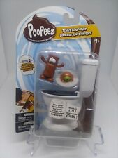 Poopeez Series 1 Toilet Launcher Playset ,With 2 Exclusive Figures!,Brand New!
