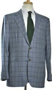 KITON Cipa 1960 Mens 2-BTN Wool Cashmere Suit Size 52 EU/ 42 R US NEW $6795