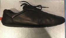 Scarpe Shoes Prada Nero black Uomo man 42 Nappa Aviator