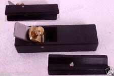 1 violin maker tool plane ebony body Steel blade luthier tool edge cut Yinfente