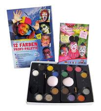 Eulenspiegel Bestseller-palette 12 Farben (schmink-set)