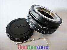 Tilt M42 Lens to Micro 4/3 M4/3 adapter E-P1 E-PL2 E-PM1 DMC + FREE TRACKING NO.