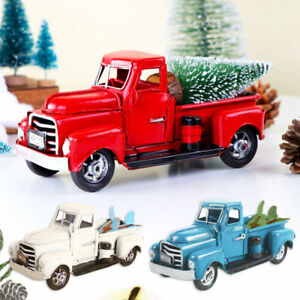 grey Ornament Christmas Car Christmas Tree Altered Decoration 2019 Collectible Toy With Hotwheels Stocking Fille pickup Truck