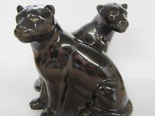 Panther Salt and Pepper Set - Panther Cruet - Gift Boxed - New