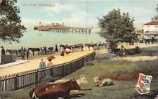 POSTCARD  DORSET    SWANAGE    The  Pier