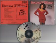 VANESSA WILLIAMS The Right Stuff 1988 CD WEST GERMANY PDO WING RECORDS POLYDOR