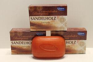 Kappus Seife Sandelholz Luxusseife 3 x 100 g = 300 g