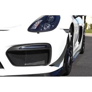 APR Performance Carbon Fiber Front Bumper Canards for Porsche Cayman GT4 981 15+