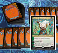 mtg GREEN WHITE SELESNYA DECK Magic the Gathering rares 60 cards Standard 2020