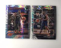 2019-20 NBA Hoops Premium Stock ZION WILLIAMSON Prizm Pulsar Rookie RC Pelicans