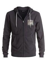 Quiksilver Sweats & Hoodies Fine Art Zip-Up Tarmac Sz Medium EQYFT03478