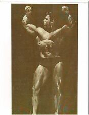 bodybuilder LARRY SCOTT with Great Full Arms Pose Muscle Photo b+w
