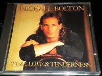 Michael Bolton - Time, Love &Tenderness - CD Album - 10 Tracks - 1991