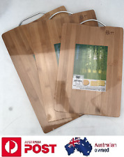 AU Premium Professional Bamboo Wooden Heavy Duty Kitchen Chopping Cutting Board